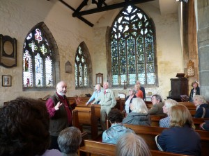 St. Denys church - tour