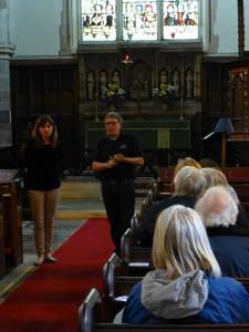All Saints, Pavement - church tour