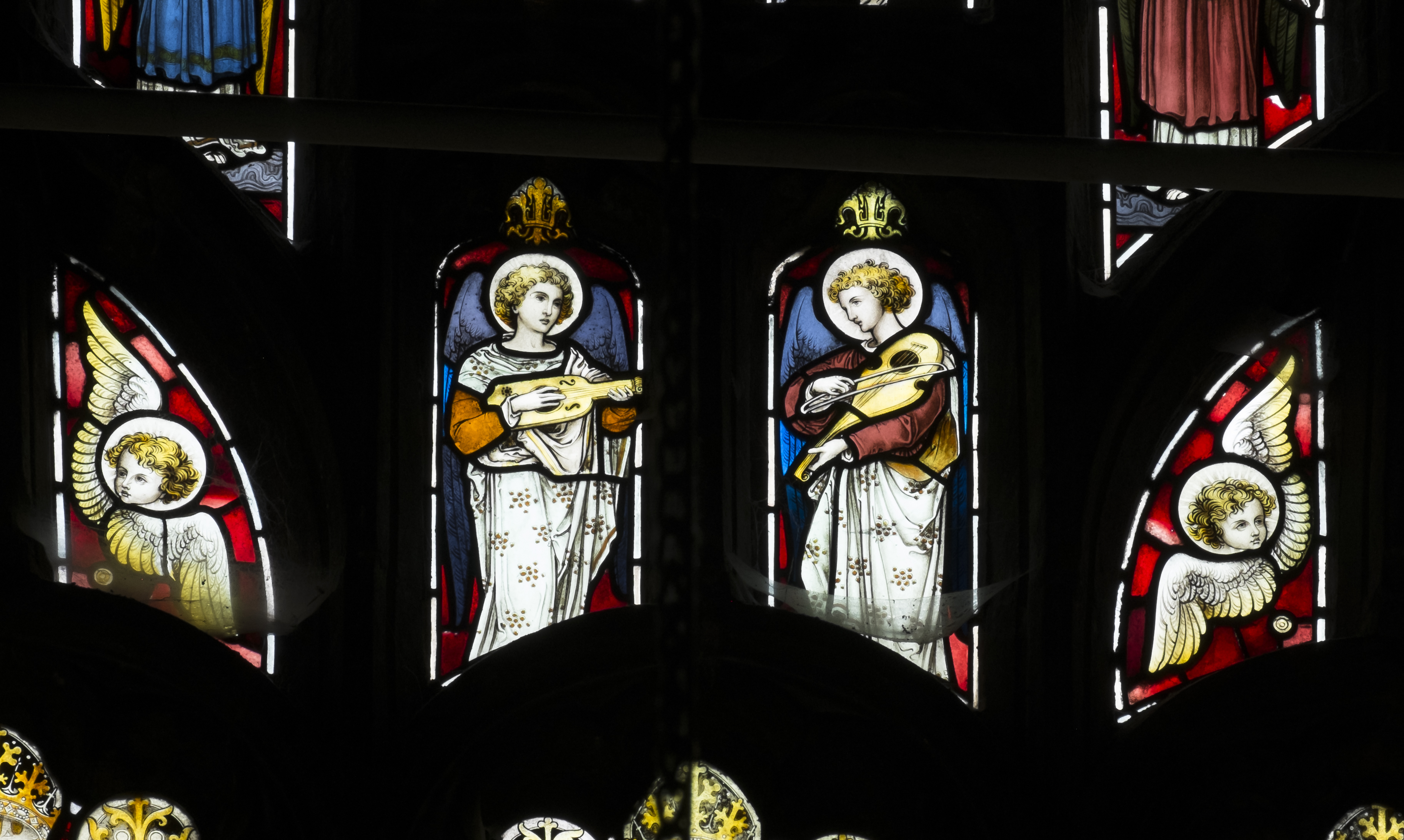 Clerestory Angels-east window