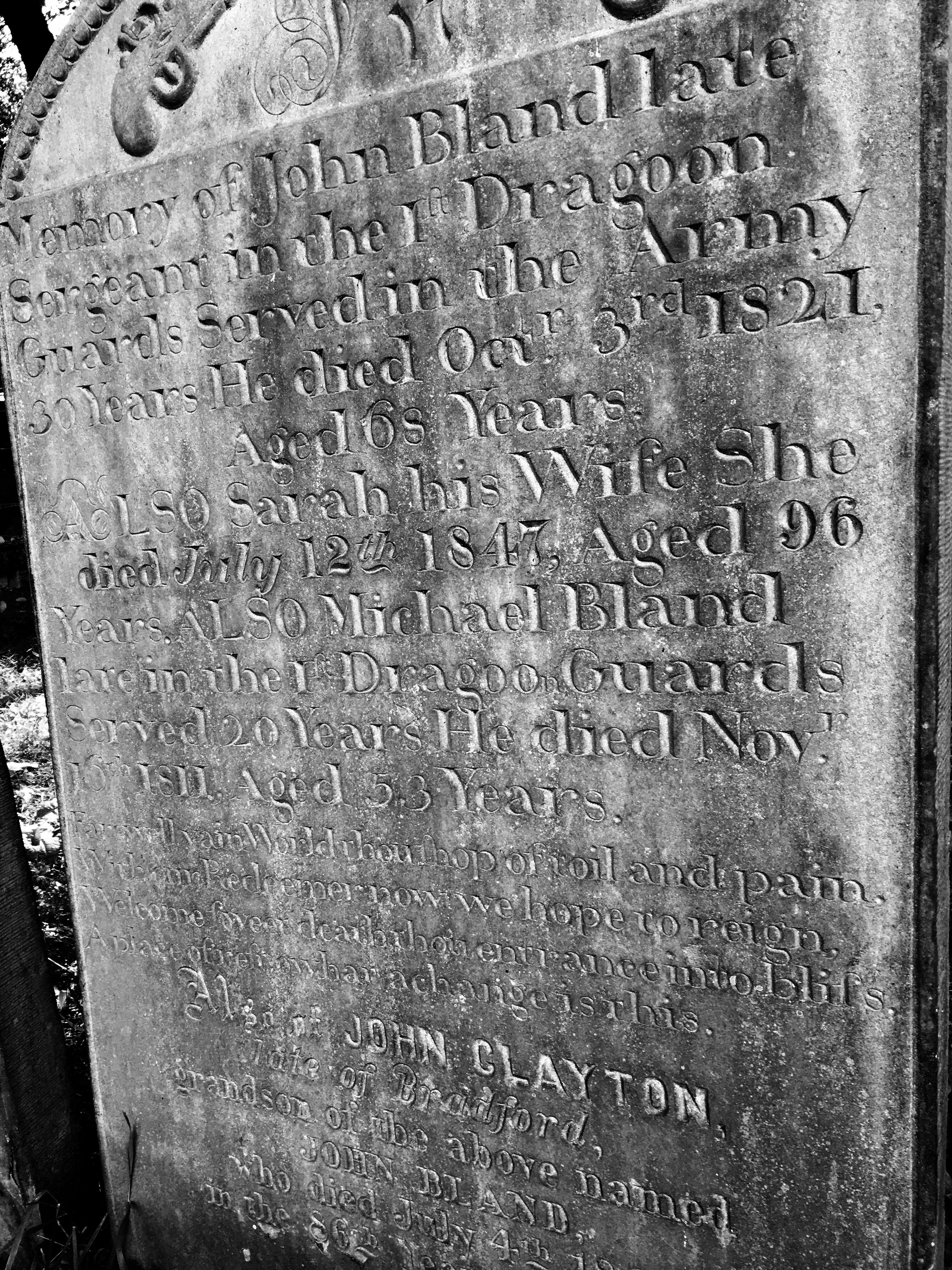John Bland – Haworth