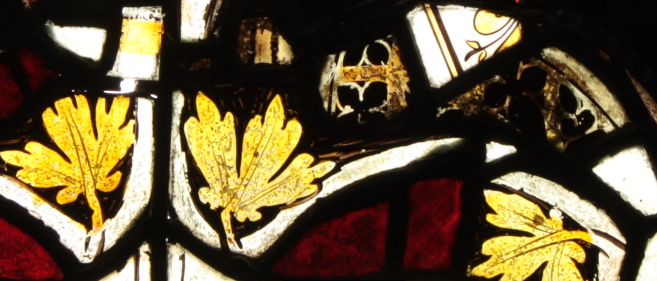 'But it's only a jumble of fragments!' – Investigating one stained glass panel
