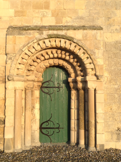 The West Door of Etton Church, East Yorkshire